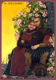VI - Die Liebenden