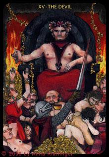 XV - Der Teufel
