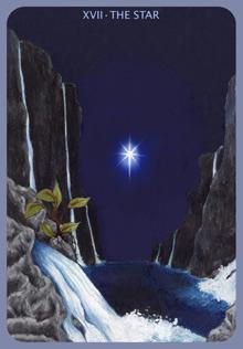 XVII - Der Stern